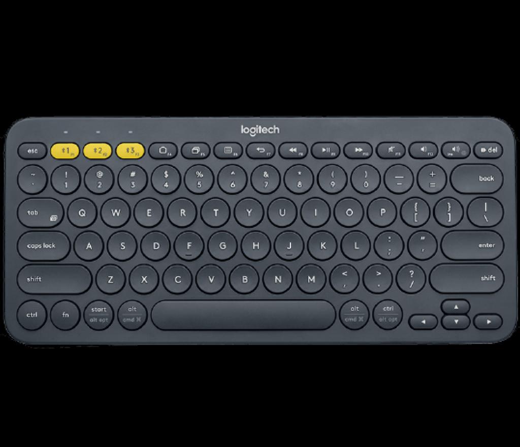 Bàn phím Bluetooth Logitech K380 sử dụng các switch dạng cắt kéo