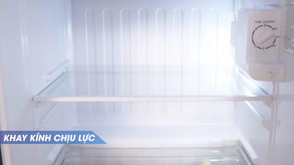 khay kính chịu lực tủ lạnh mini aqua